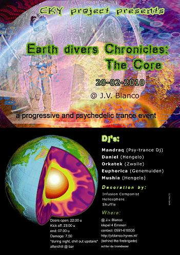 Earth divers chronicles: the core 20 Feb '10, 23:00