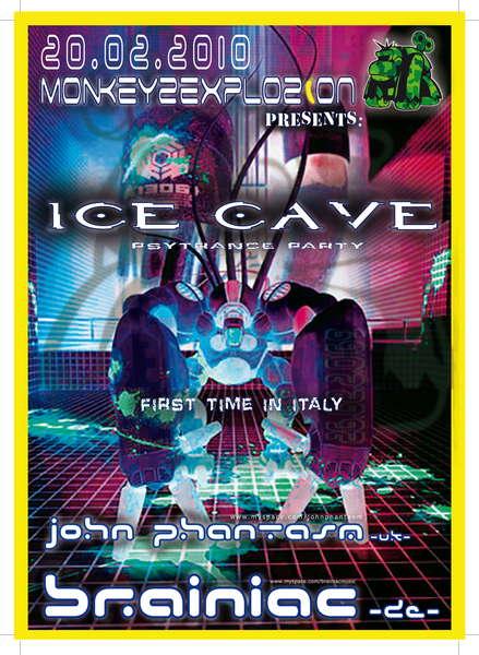 """""""ICE CAVE"""" >> BRAINIAC (DE) 20 Feb '10, 23:00"""