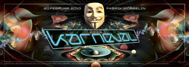 Karneval @ Fabrik / Sun Project ( live ) Wir feiern Fasching 20 Feb '10, 23:00