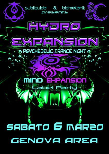 :: HYDRO - EXPANSION ::: ILLOW Live - Mind Expansion Reunion 6 Mar '10, 22:30
