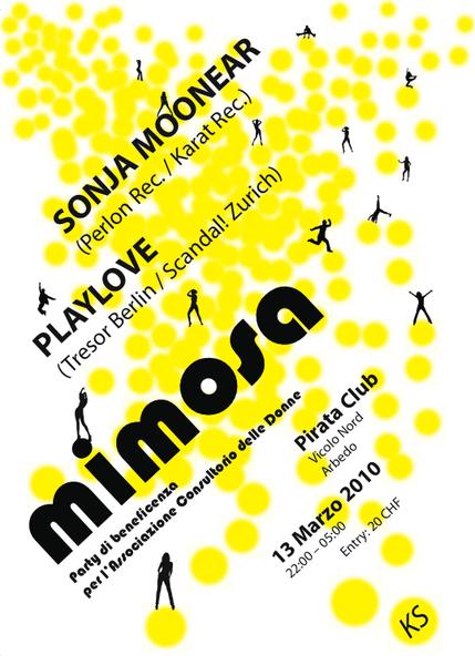MIMOSA - party di beneficenza per il consultorio delle donne 13 Mar '10, 22:00