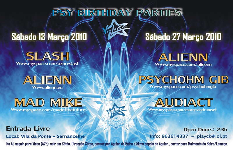 Psy Night - Birthday Party 13 Mar '10, 23:30