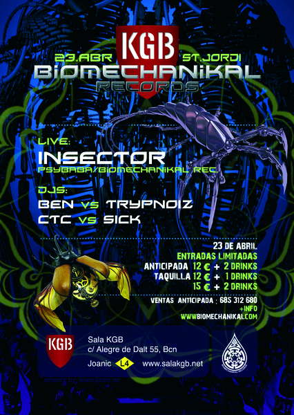 BIOMECHANIKAL SANT JORGE 23 Apr '10, 23:00