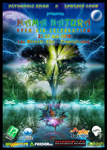 Party flyer: MAMA NATURA 21 May '10, 21:00