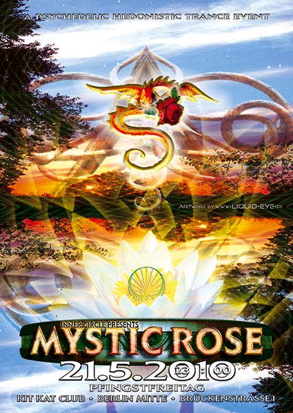 Party flyer: The Mystic Rose 21 May '10, 23:00