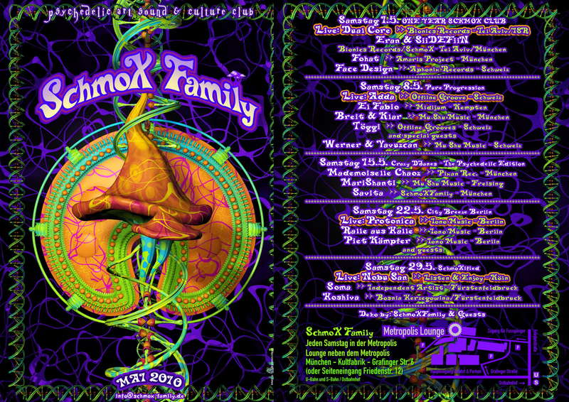 SchmoXFamily Club - City Breeze Berlin - PROTONICA LIVE 22 May '10, 23:00
