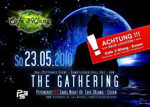 The Gathering - Psyenergy Rec. 23 May '10, 22:00