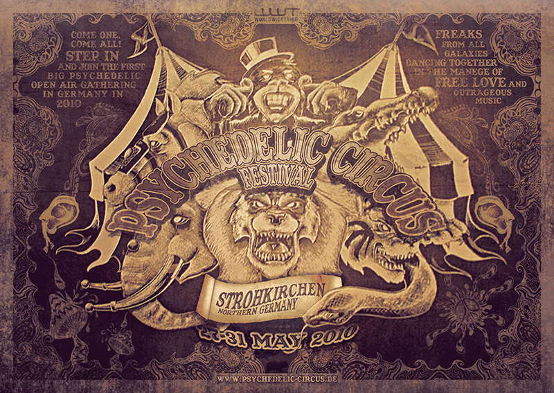 Psychedelic Circus Open Air Festival / time table online 27 May '10, 22:00