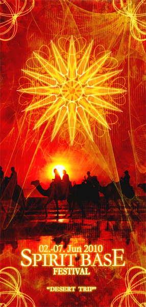"""SPIRIT BASE FESTIVAL 2010 """"Desert Trip"""" 2 Jun '10, 14:00"""