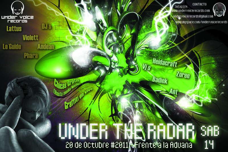 Under The Radar 14 Aug '10, 22:00