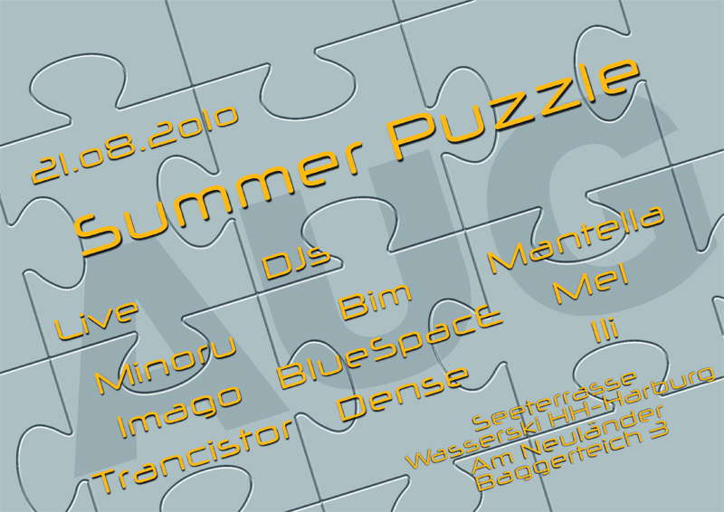 Summer Puzzle 21 Aug '10, 19:00