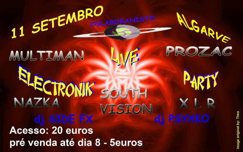 NOSTRADAMUS Party@ Algarve 11 Sep '10, 22:00