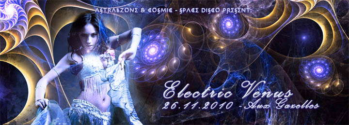 ELECTRIC VENUS - FLOWJOB (iboga) live FIRST TIME IN AUSTRIA 26 Nov '10, 22:00