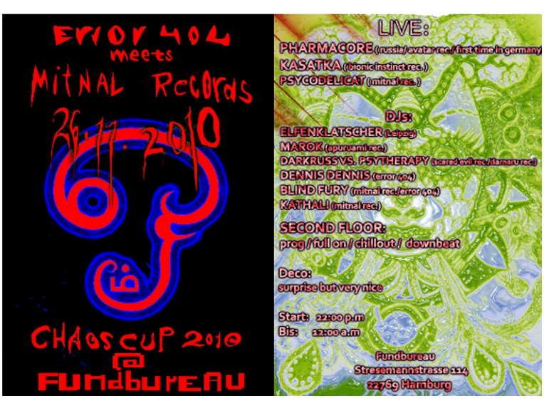 ErroR 404 meets mitnal rec.:CHAOSCUP 2010 26 Nov '10, 22:00