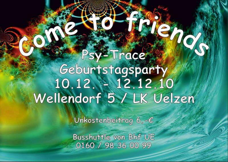 Come to Friends 10 Dec '10, 22:00