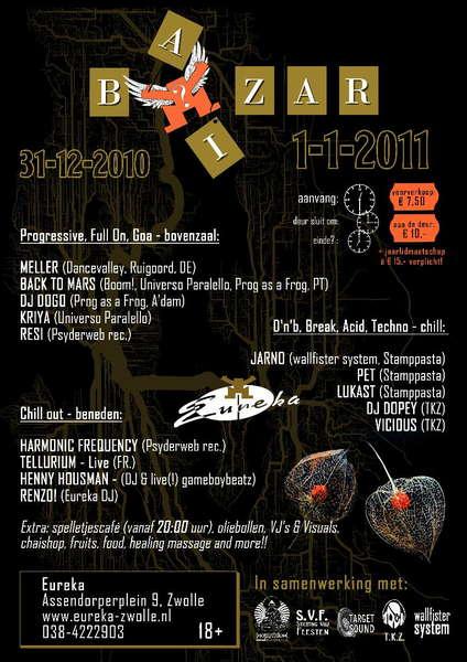 Bi(a)zar! NYE Party! 31 Dec '10, 08:00