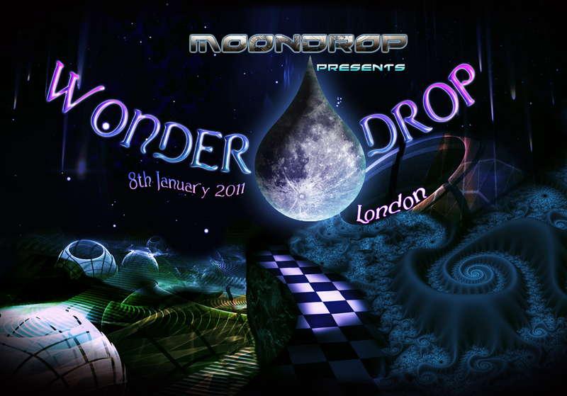 Party flyer: WonderDrop 8 Jan '11, 22:00