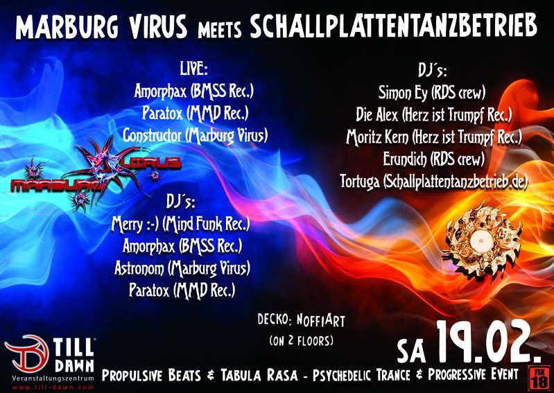 Marburg Virus meets M.S.T on 2 Floors 19 Feb '11, 22:00