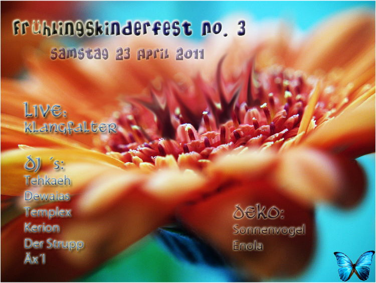 Frühlingskinderfest No. 3 23 Apr '11, 20:00