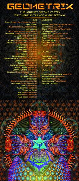 GEOMETRIX - journey beyond the vortex 29 Apr '11, 18:00
