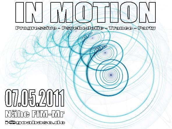 IN MOTION >> SUNSTRYK // NECMI // PARATOX....and more 7 May '11, 22:00