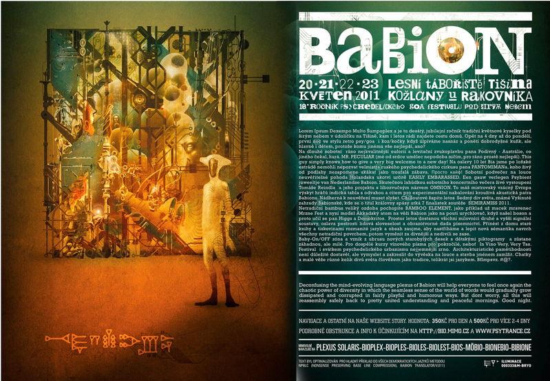 BABION festival 20 May '11, 22:00