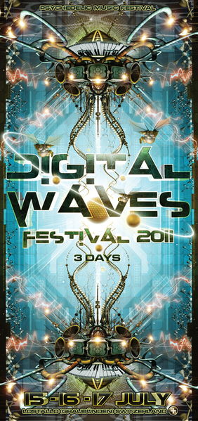 DIGITAL WAVES - Psychedelic Music Festival (II edition 2011) 15 Jul '11, 18:00