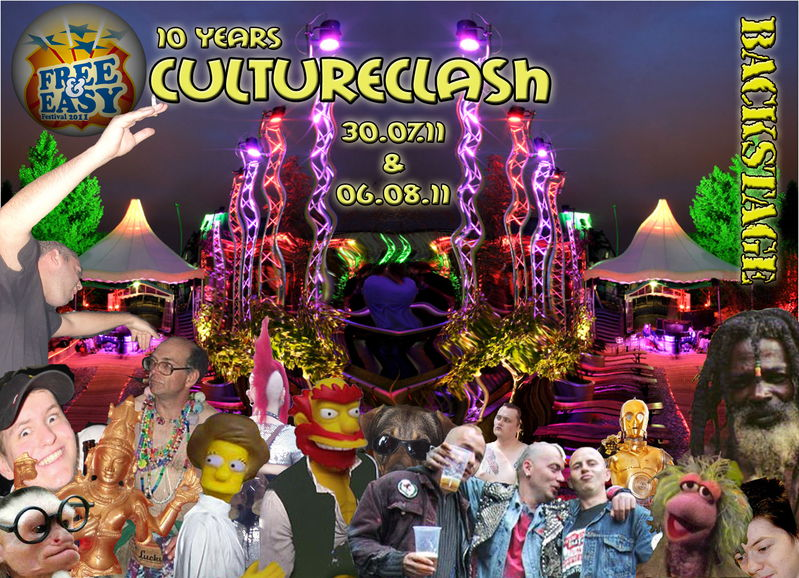 10 Years CULTURE CLASH @ FREE & EASY pt. 2 6 Aug '11, 22:00