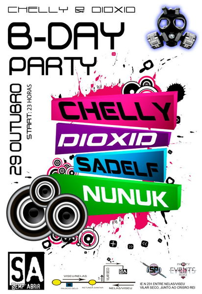 CHELLY&DIOXID B-DAY Party! 29 Oct '11, 23:00
