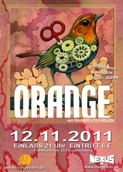 ORANGE Konzert 12 Nov '11, 21:00