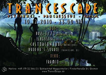 TranceScape 10 Dec '10, 23:00
