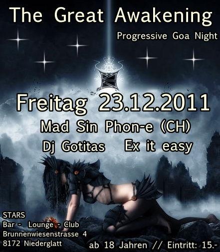 ૐૐ The Great Awakening ૐૐ 23 Dec '11, 22:00