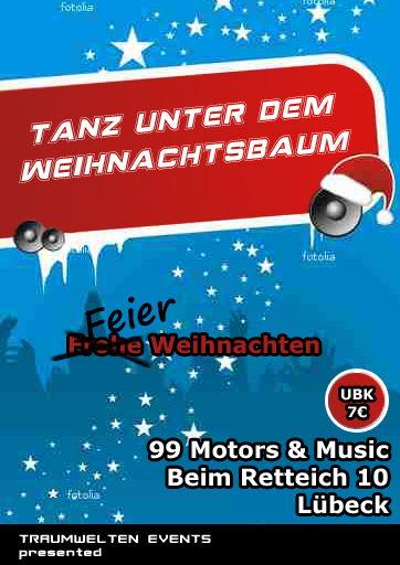 Party flyer: Feiern unterm Weihnachtsbaum (Club Nacht) 24 Dec '11, 21:30