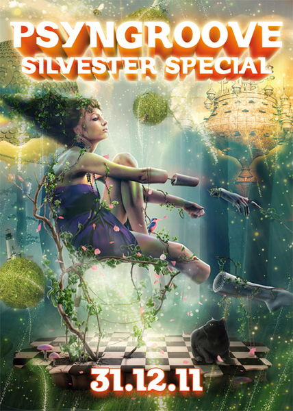 ..::::Psyngroove Silvester Special::::..Cosmosis live..::::. 31 Dec '11, 21:00