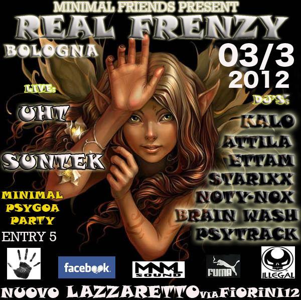 --REAL FRENZY--...by MINIMAL FRIENDs 3 Mar '12, 22:00