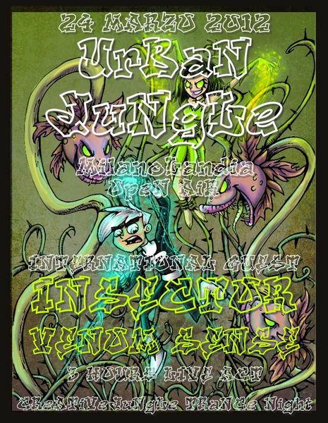 uRBaN JuNgLe - INSECTOR/VENOM SENSE 3 HOURS LIVE! 24 Mar '12, 23:30
