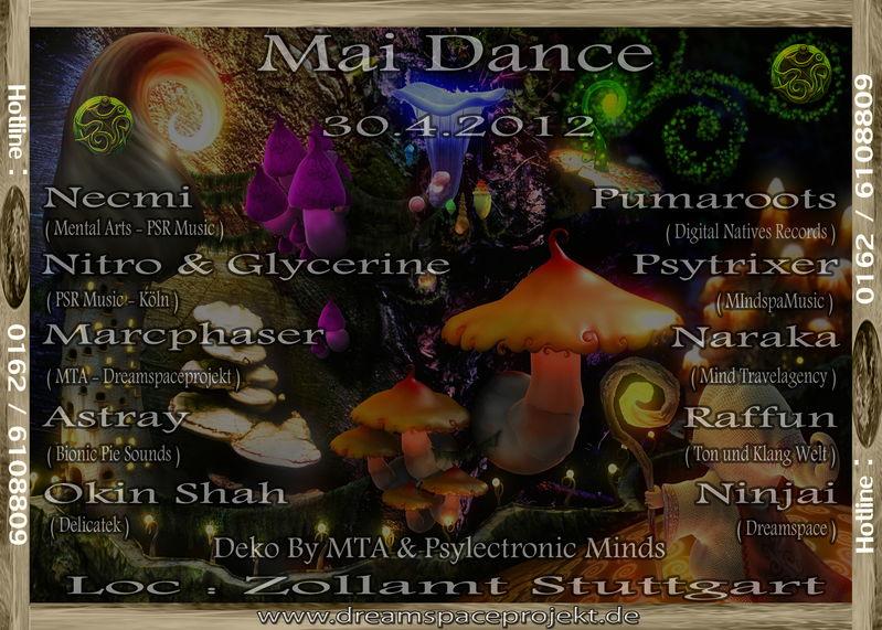 ˙·٠•●ૐ Mai Dance ૐ●•٠·˙ 30 Apr '12, 22:00