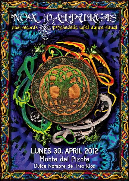 Nox Valpurgis - 2to6 label party 30 Apr '12, 22:00