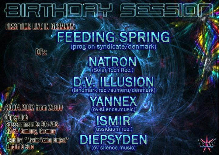 °oO Birthday~Session Oo° 30 Apr '12, 23:00