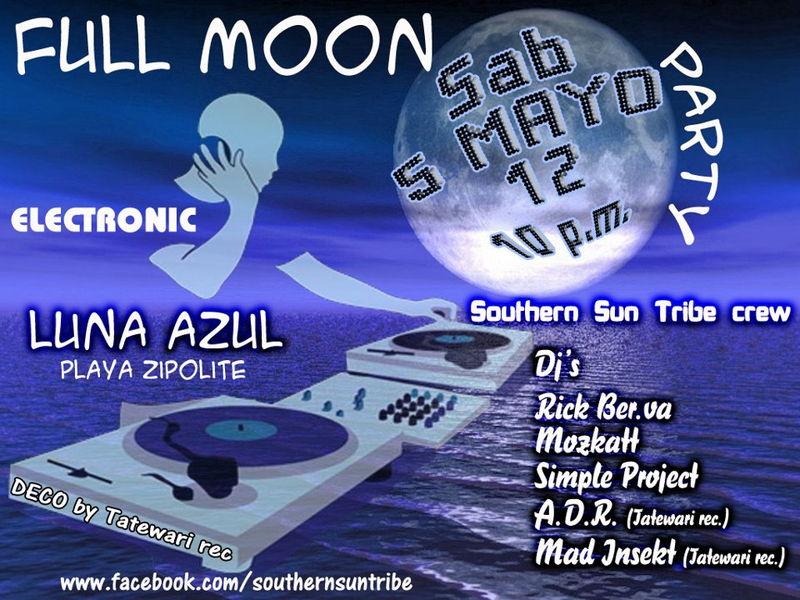 FULL MOON Party 5 May '12, 22:00
