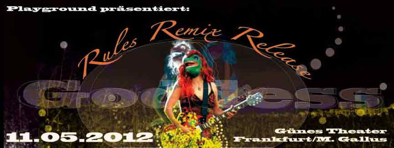 Lava 303 * Goddess Rules * The Remixes * Release Party 11 May '12, 21:00