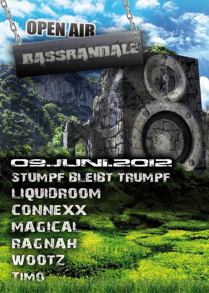 Party flyer: BassRandaleॐ OpenAir 9 Jun '12, 10:00