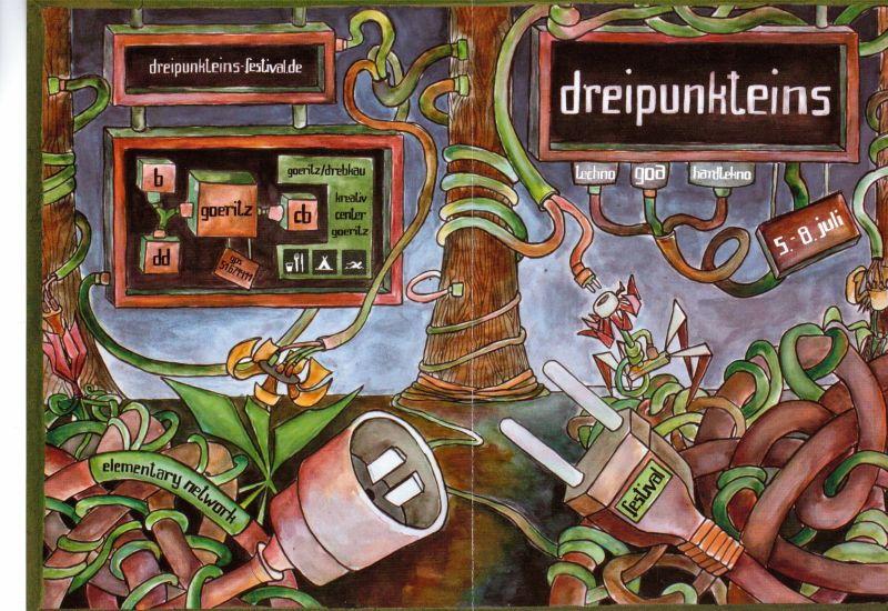 Party flyer: Dreipunkteins 3.1 5 Jul '12, 21:00