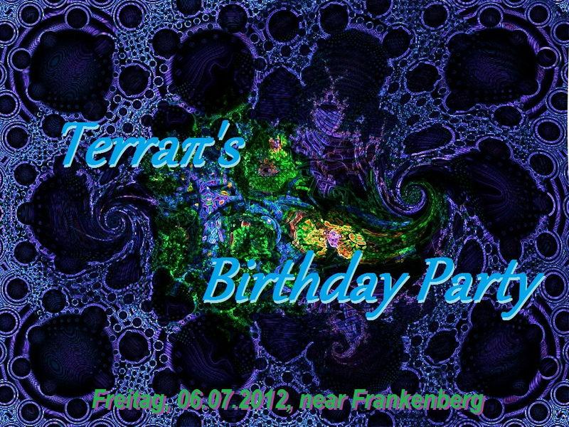 TerraPi's Birthday Party 6 Jul '12, 20:00