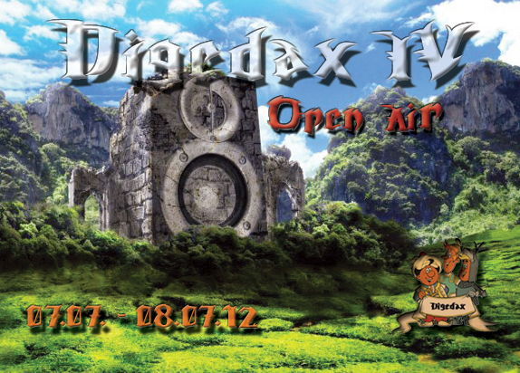 Digedax- Open air 4 (only for Digedax friends) 7 Jul '12, 12:00