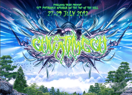 Party flyer: CHVATIMECH-MOUNTAINS GATHERING-2012 27 Jul '12, 22:00