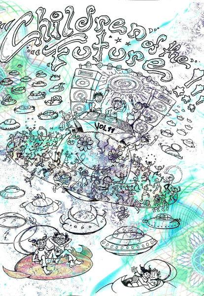 CHILDREN OF THE FUTURE VOL.11 pres. HUX FLUX, IANUARIA, .... 14 Sep '12, 21:30
