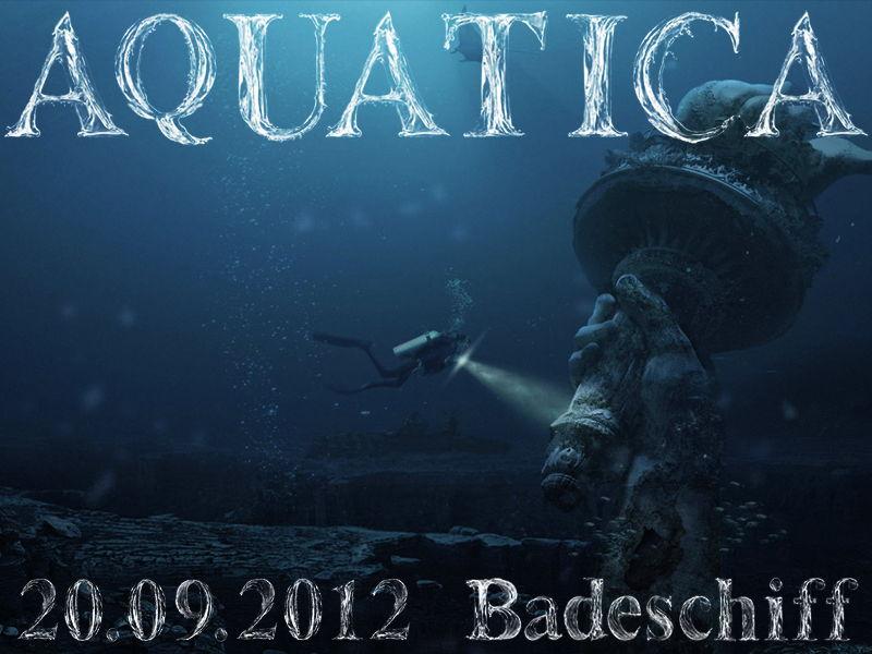 Party flyer: * .° AQUATICA ° . * 20 Sep '12, 22:00