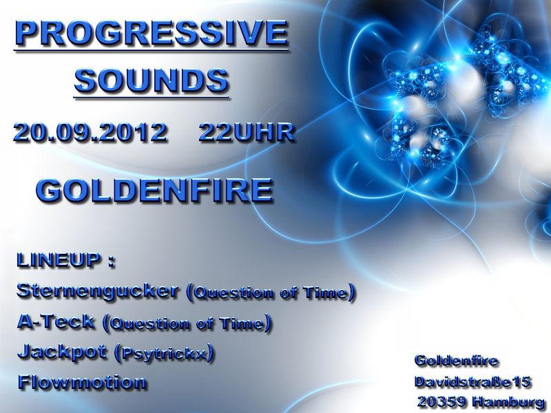Party flyer: Progressvie Sounds 20 Sep '12, 22:00