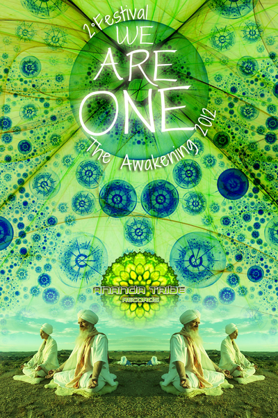 Party flyer: WE ARE ONE II -The Awakening 2012 21 Sep '12, 23:00